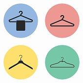 Hanger icon set.