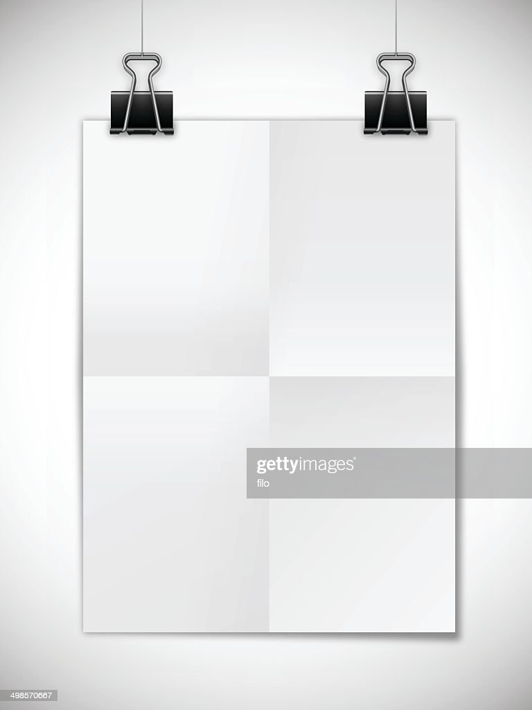 hanging poster template vector art getty images