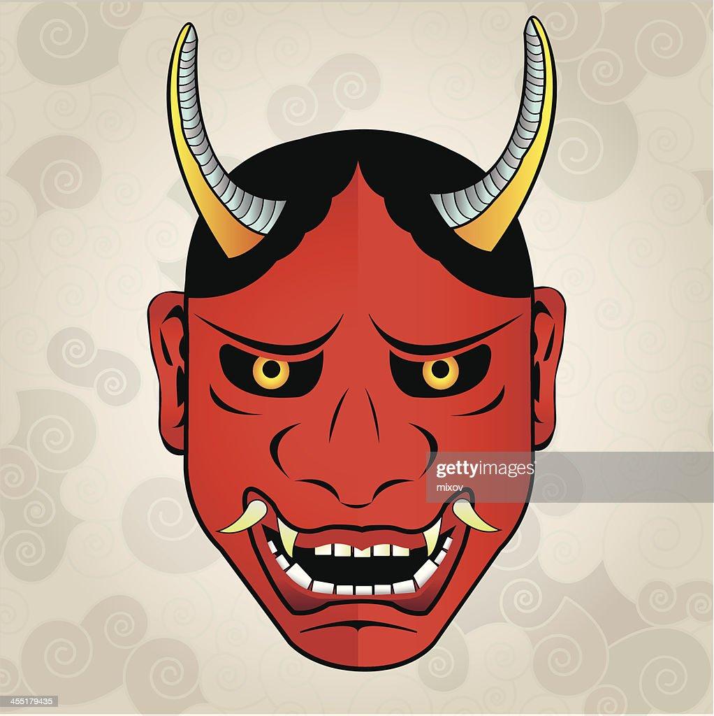 Hannya mask, japanese tattoo