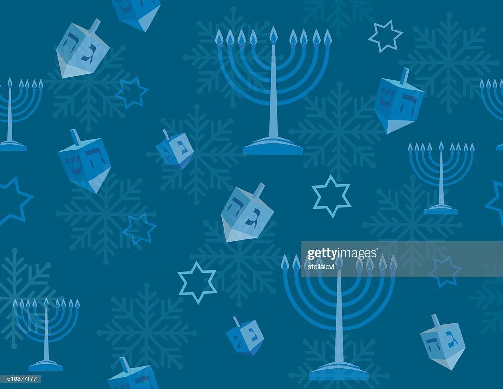 Fundo de Hanukkah : Ilustração