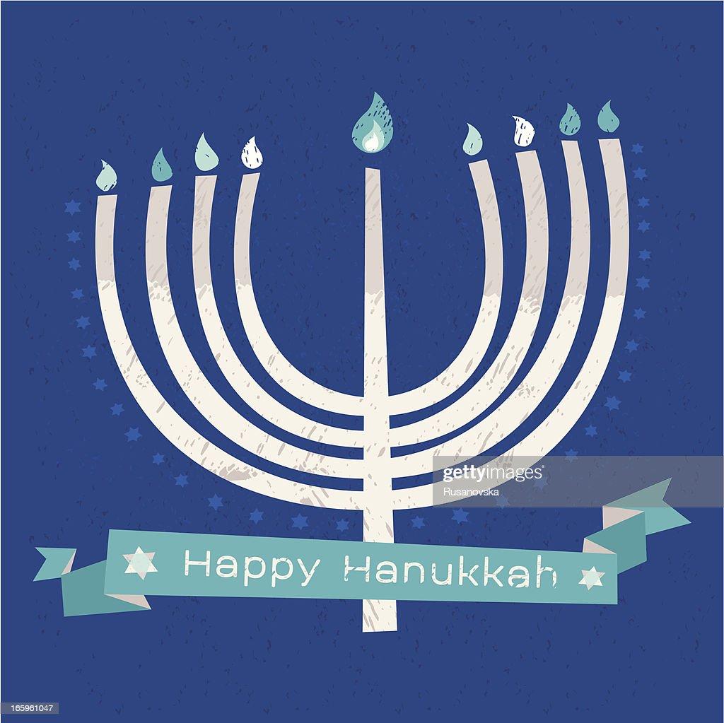 Hanukkah candelabrum greeting card vector art getty images hanukkah candelabrum greeting card vector art m4hsunfo