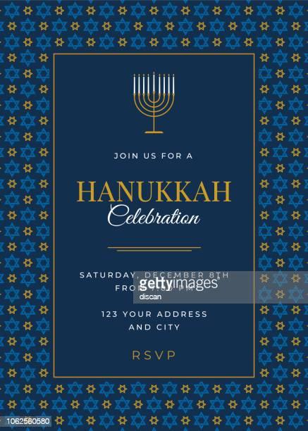Hanukkah Celebration invitation