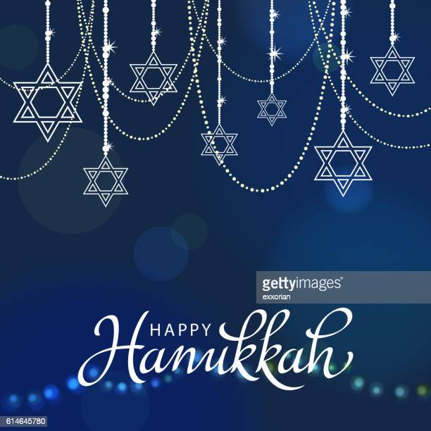 illustrations, cliparts, dessins animés et icônes de hanukkah decorations - hanoukka
