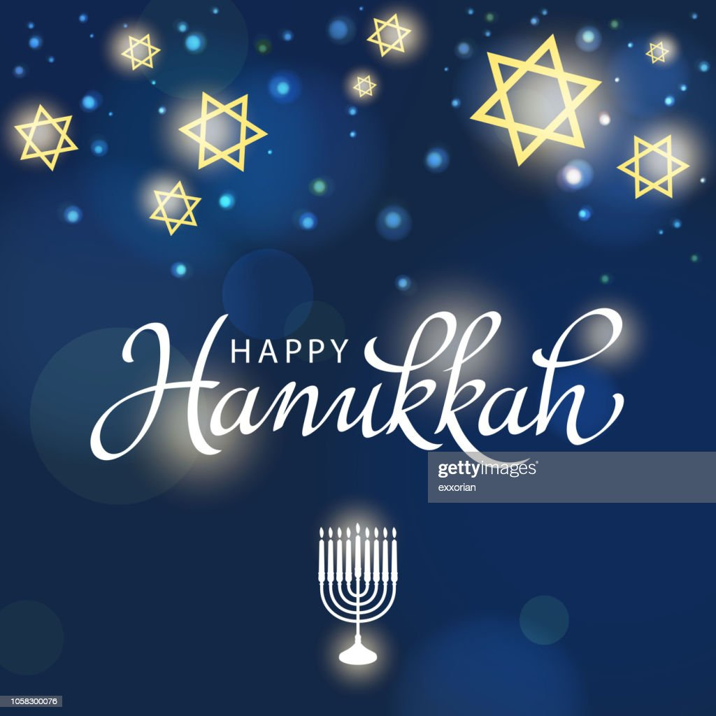 Hanukkah Festival of Light : stock illustration