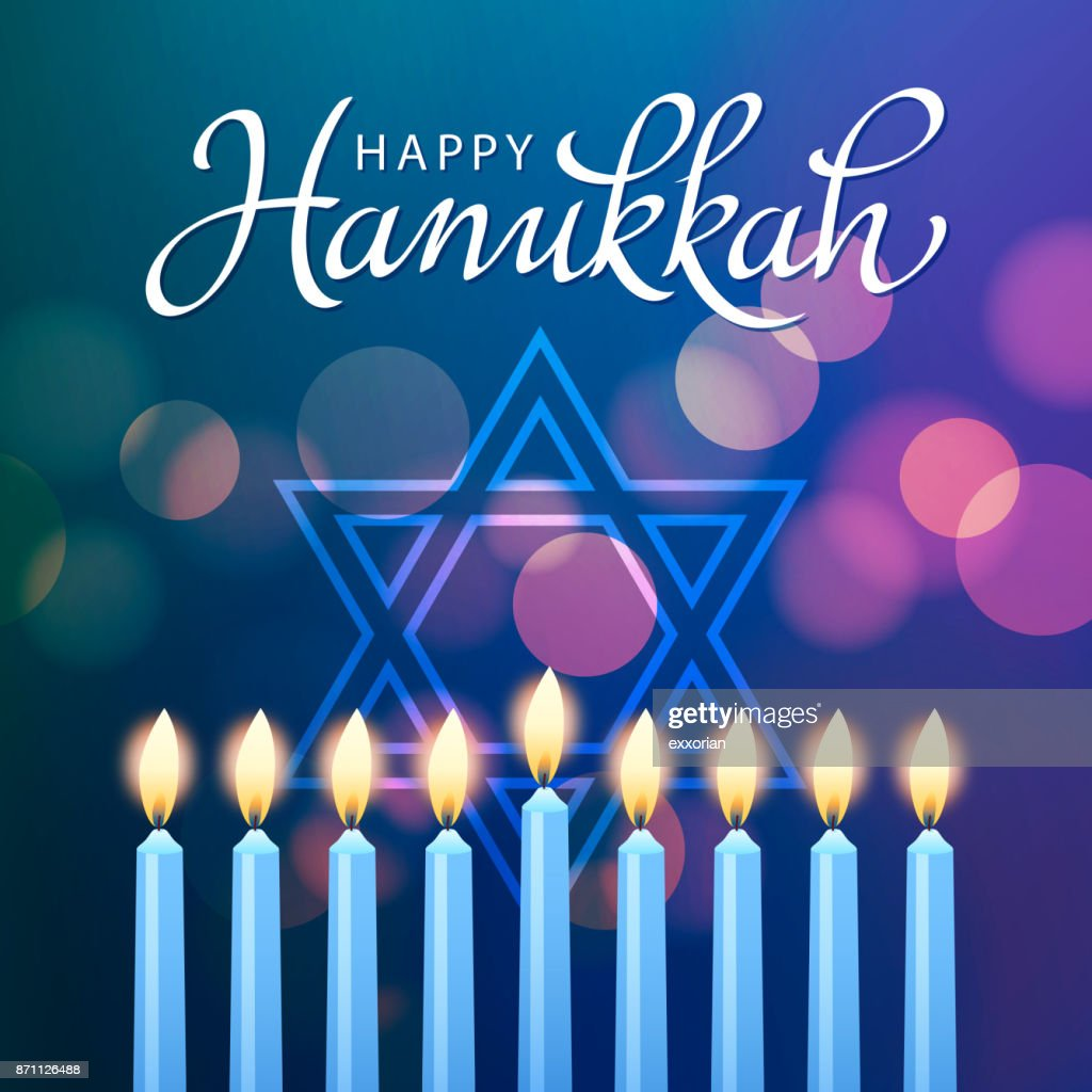 Hanukkah Festival of Light : stock illustration