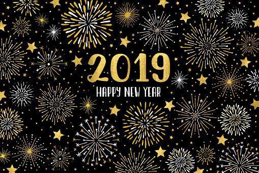 Happy 2019 fireworks - gettyimageskorea