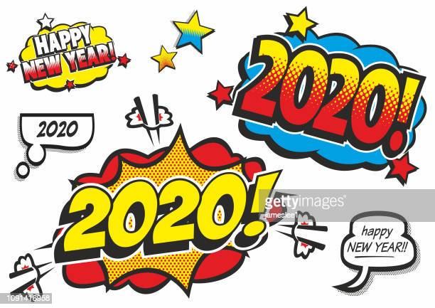 Happy New Year Clipart 2020 3