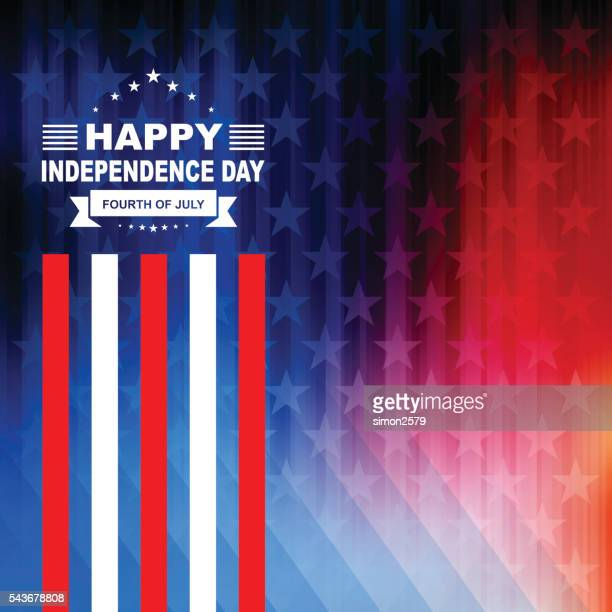 happy 4th of july independence day background - independence day stock illustrations, clip art, cartoons, & icons