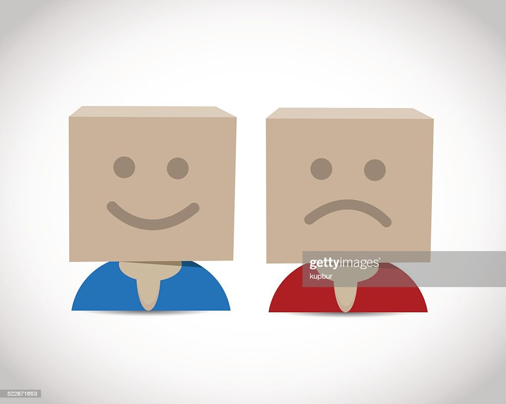 Happy and unhappy box