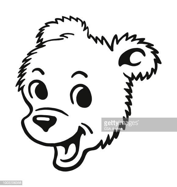 happy bear cub - bear cub stock illustrations
