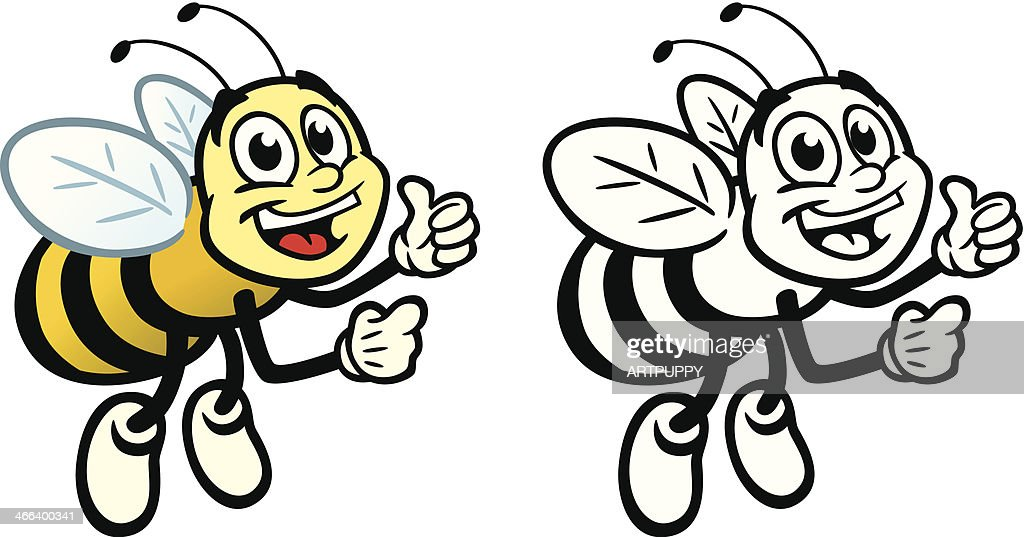 Happy Bee : stock illustration