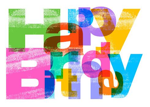 Happy Birthday Greeting - gettyimageskorea