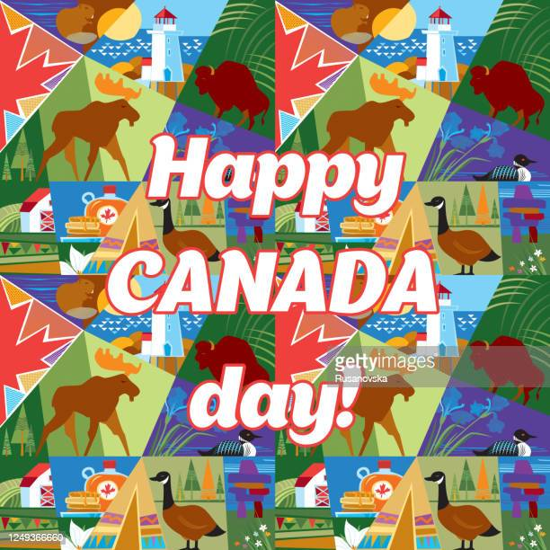 happy canada day! - maple syrup stock illustrations