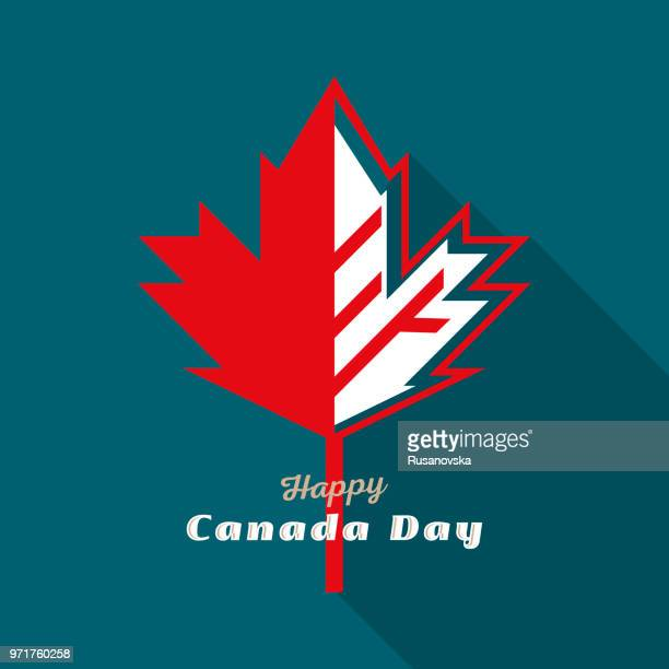 happy canada day - canada day stock illustrations