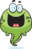 Happy Cartoon Tadpole