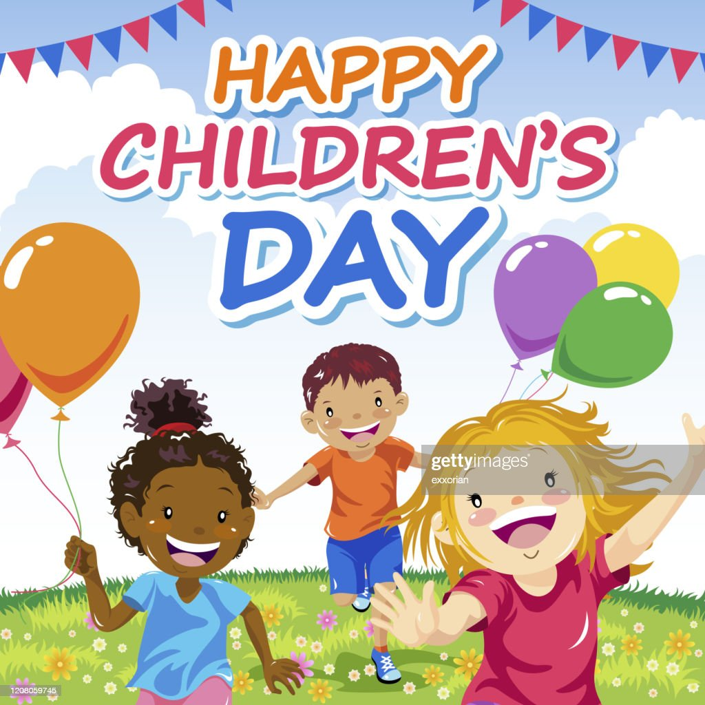 Happy Childrens Day High-Res Vector Graphic - Getty Images