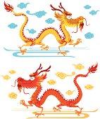 Happy Chinese Dragon