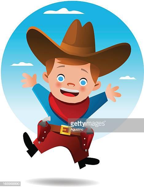 Happy Cowboy Kid