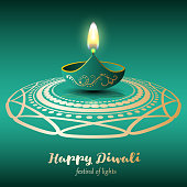 Happy Diwali. Festival of lights