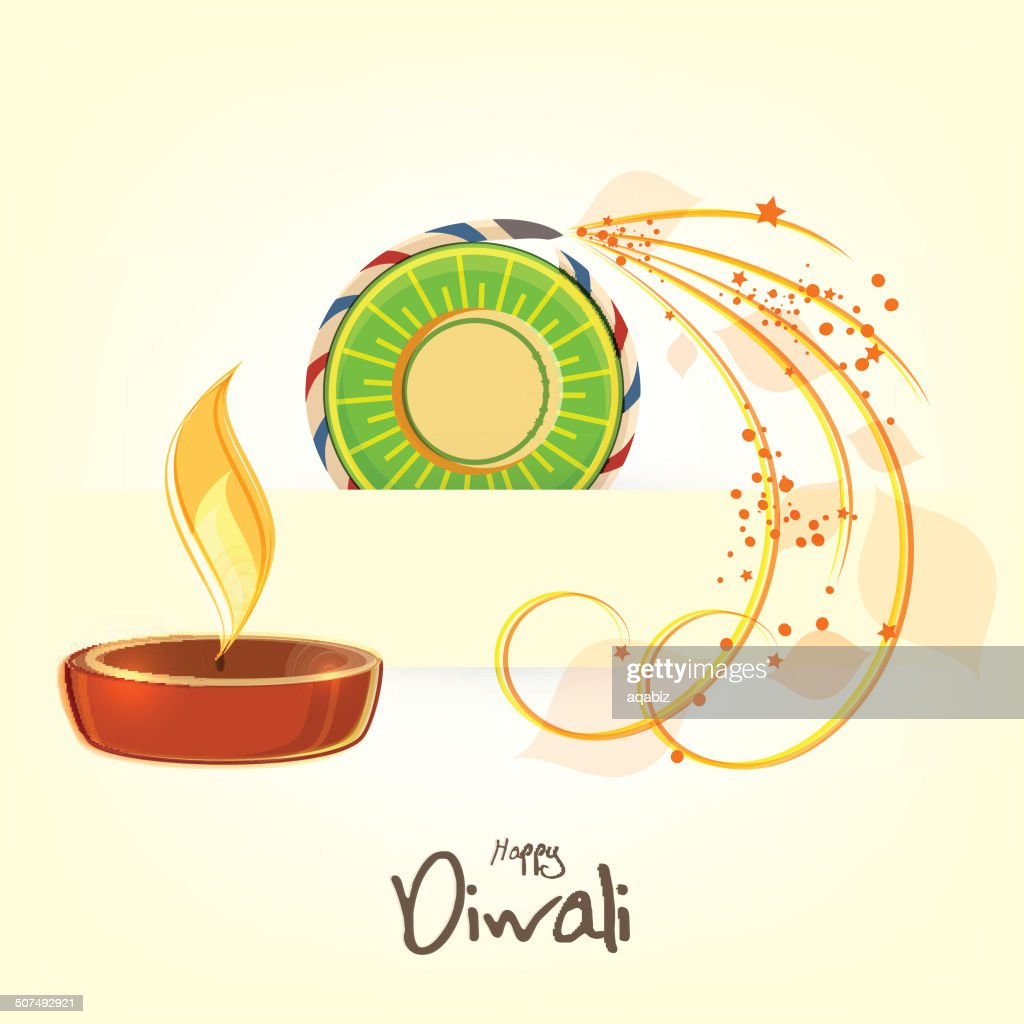 Happy Diwali Greeting Card Card Design Vector Art Getty Images
