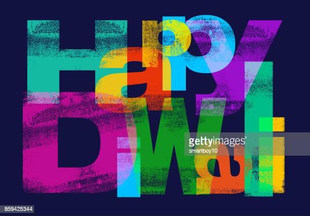 happy diwali greeting - diwali stock illustrations