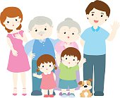 happy family character design vector illustration