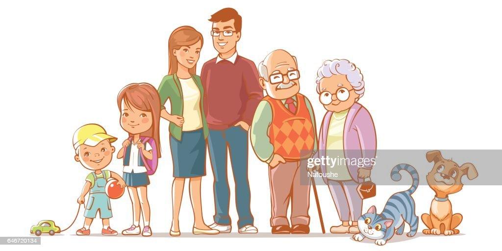 Happy family set