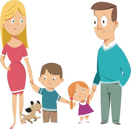 Happy Family - gettyimageskorea