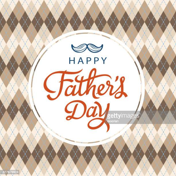 happy father's day card - fathers day stock illustrations