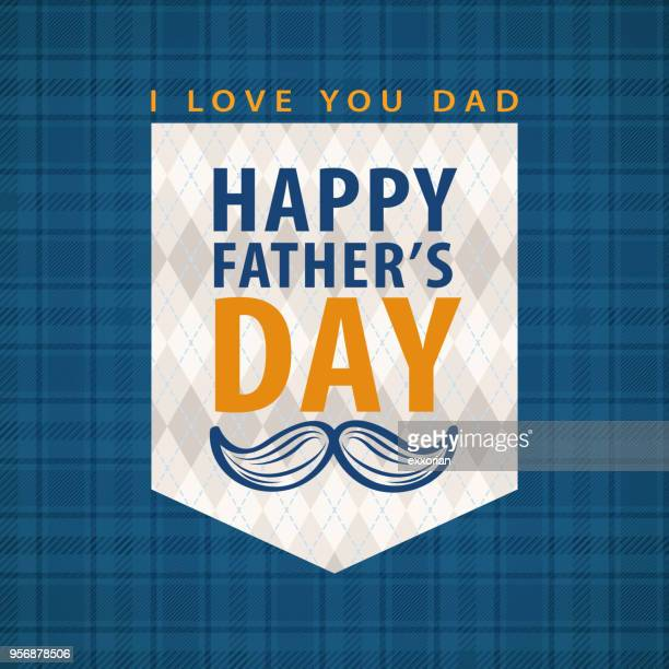 happy father's day - fathers day stock illustrations