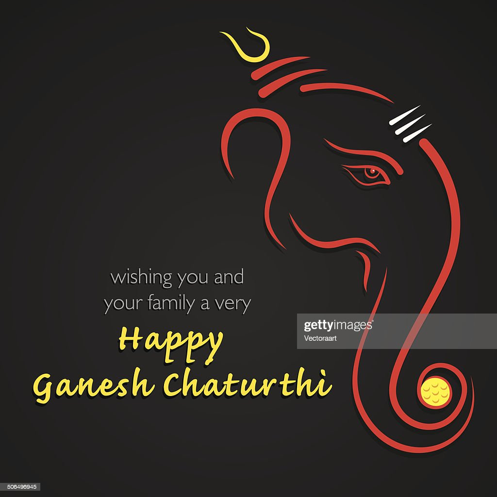 happy ganesh chaturthi festival background