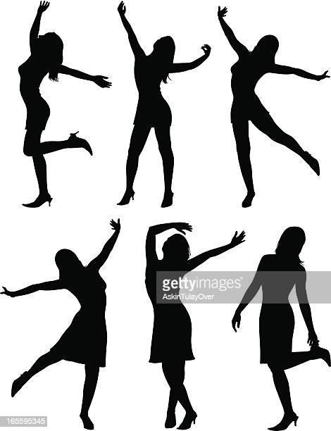 Illustrations et dessins anim s de danseuse de cabaret getty images - Dessin de danseuse moderne jazz ...