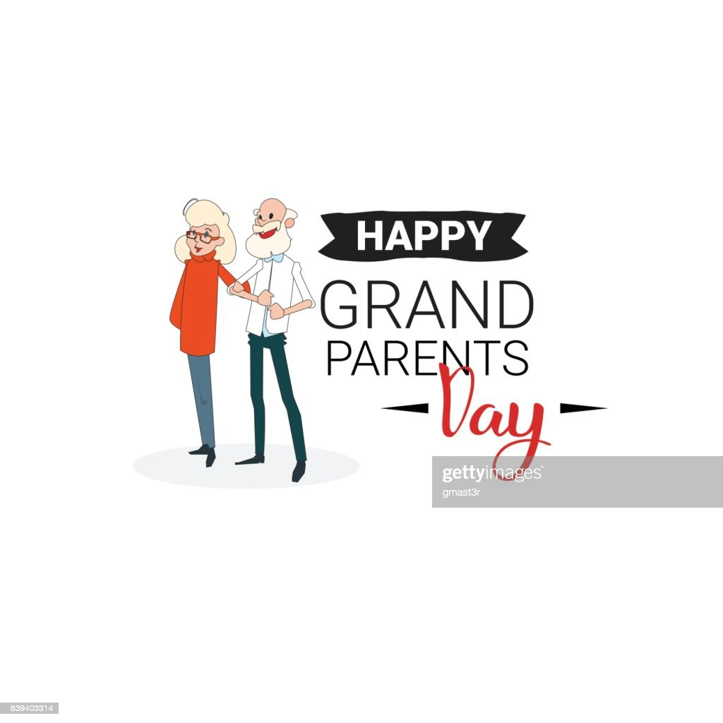 Happy grandparents day greeting card banner text over white happy grandparents day greeting card banner text over white background m4hsunfo