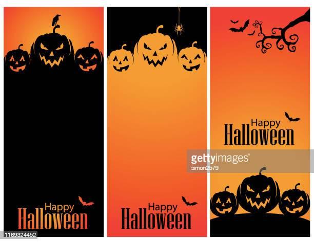 happy halloween background - halloween stock illustrations