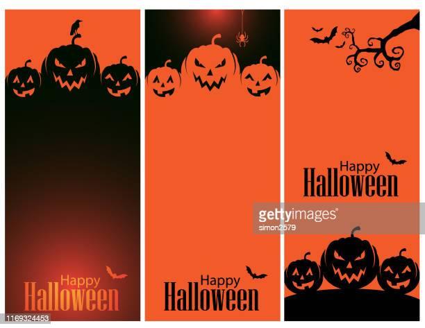 happy halloween hintergrund - halloween stock-grafiken, -clipart, -cartoons und -symbole