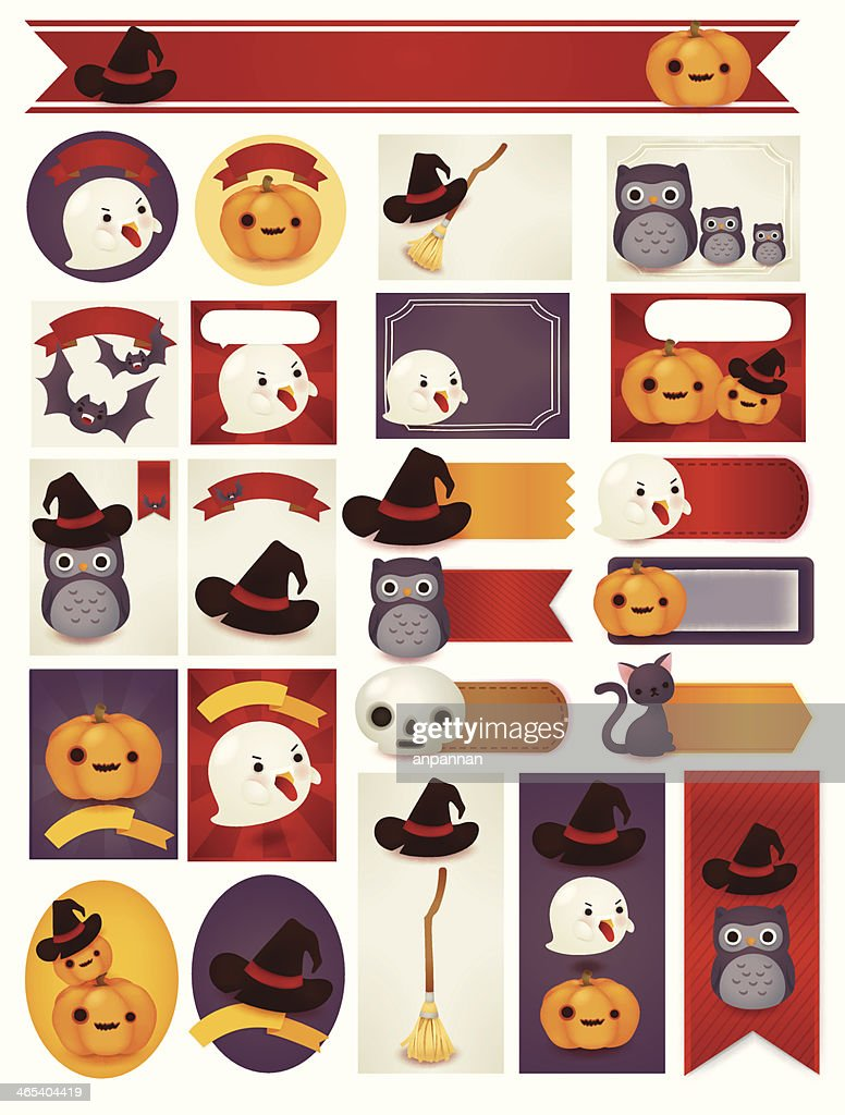 Happy Halloween Card - Vector File EPS10