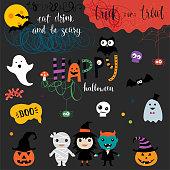 Happy Halloween Elements_03