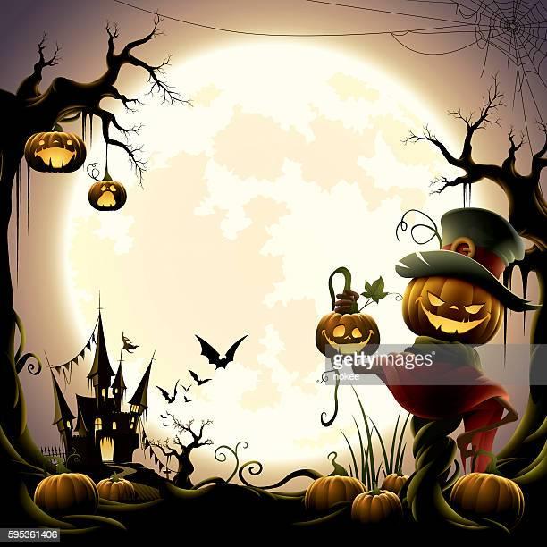 Happy halloween - jack o lantern