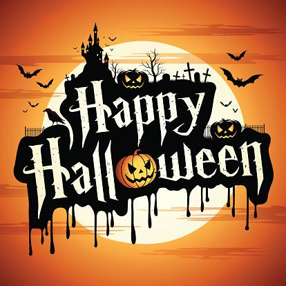 Happy Halloween with Pumpkin - gettyimageskorea