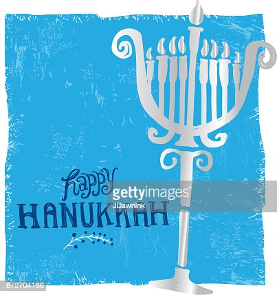 Happy hanukkah greeting card design template vector art getty images keywords m4hsunfo