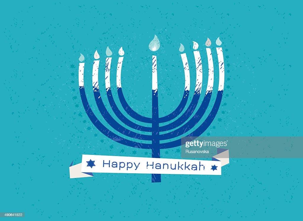 Happy hanukkah vector art getty images happy hanukkah greeting card vector art m4hsunfo