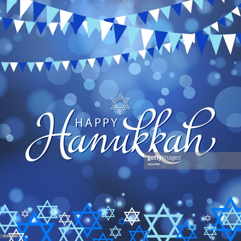 Happy Hanukkah : stock illustration