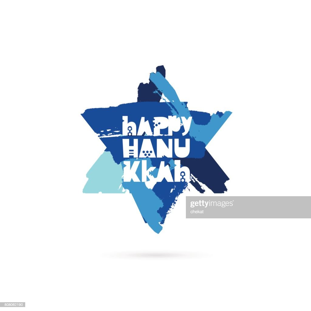 Happy Hanukkah. Vector illustration
