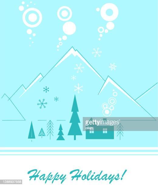happy holiday - ruhige szene stock-grafiken, -clipart, -cartoons und -symbole