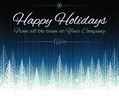 Happy Holidays Christmas background