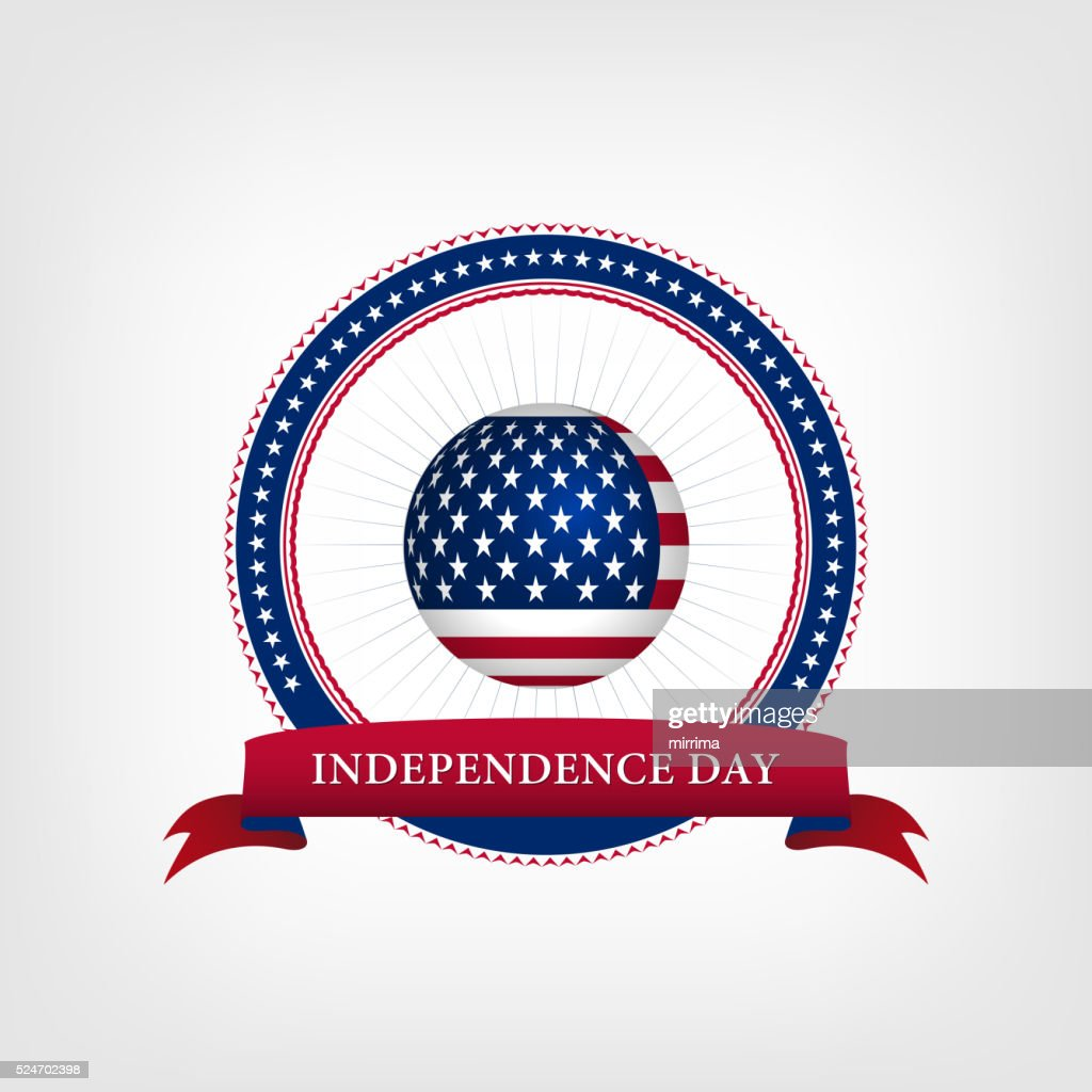 Happy independence day card United States of America
