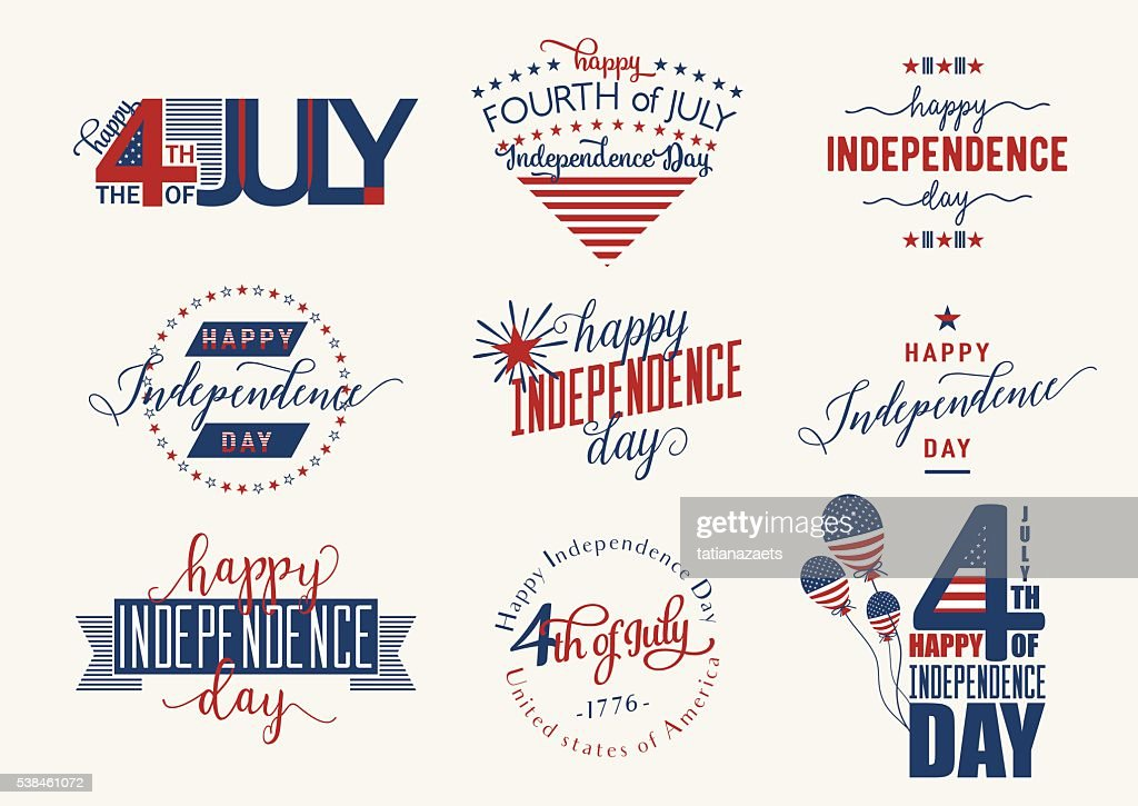 Happy Independence Day United States overlay. Fourth of July -