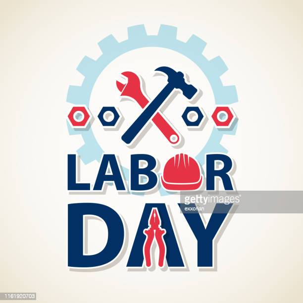 happy labor day - national holiday stock illustrations