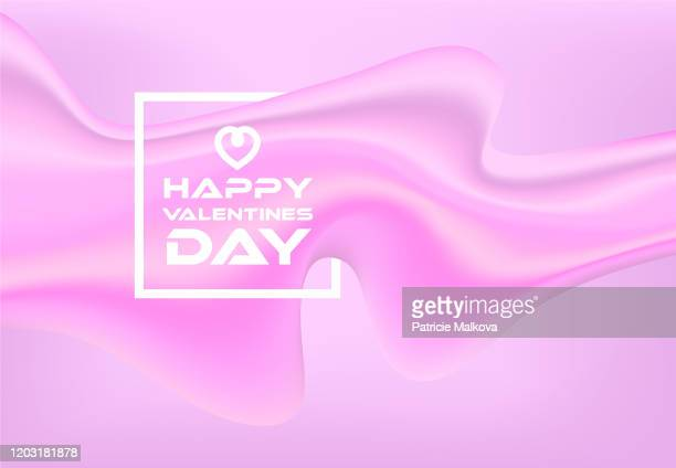 happy mother's day background with liquid 3d fluid made from gradient mesh, love background pink shapes and flowing mass, 8 march card - mothers day text art stock illustrations