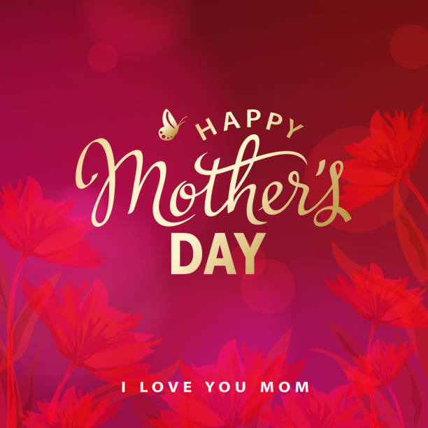 happy mother's day celebration - femininity stock illustrations